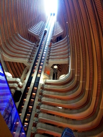Inside the Hyatt