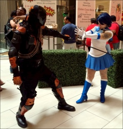 Deathstroke vs Sailor Mercury?